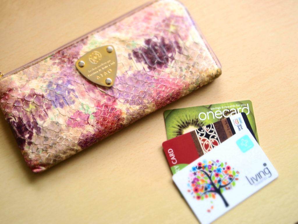 財布の中身 カードだけ