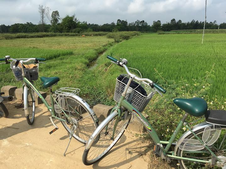 ホイアン 農村ツアー 自転車