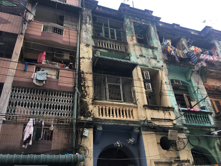 ヤンゴン インド通り①