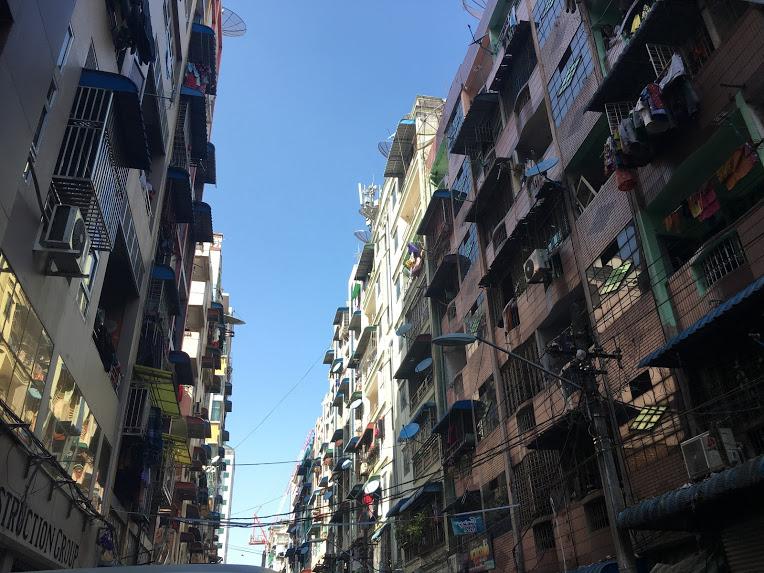 ヤンゴン インド人街②